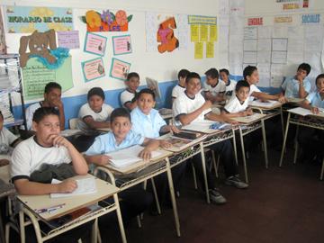 Santa Luis Students